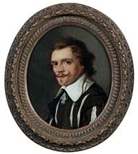 portrait d'homme by thomas de keyser