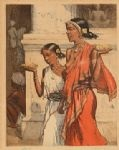 indian girls, ceylon by t. frantisek simon