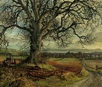 elm tree, fowlis by james mcintosh patrick