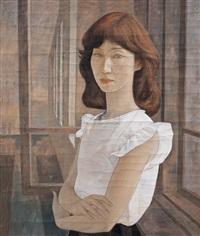 girl's portrait by xue yanqun