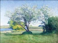 kukkivat puut by werner von hausen