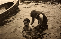 the swimming lesson by alfred stieglitz