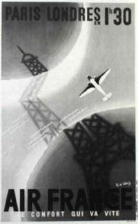 air france by r. de valerio