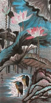 花鸟 by mei zhongzhi