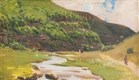 горная речка by nikolai nikanorovich dubovskoy