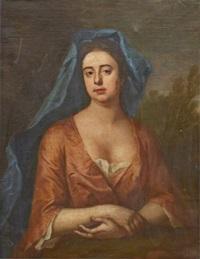 kvinnoporträtt by joshua reynolds