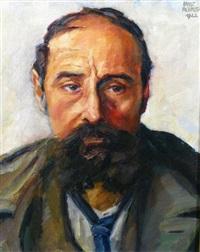 portrait d'homme by ernst albrecht