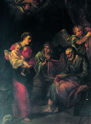 la sainte famille by alessandro marchesini