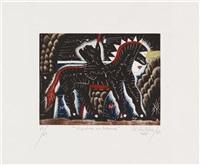 que animal es un coyote (+ hembra en brama; 2 works) by javier arévalo