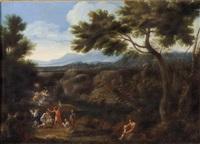 paesaggio by filippo lauri and gaspard dughet