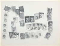 sans titre (7 singers) by andy warhol