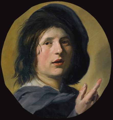 the head and right hand of a boy tronie study by frans hals the elder