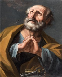 saint pierre repentant by giuseppe antonio petrini