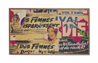 rue taylor ça c'est du cinéma by jacques villeglé