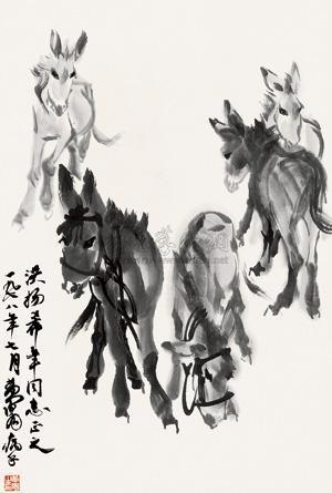 驴 by huang zhou