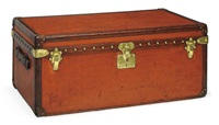 suit carrier trunk by louis vuitton