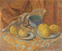 nature morte aux pommes by paul sérusier