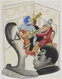 the blues by stuart davis