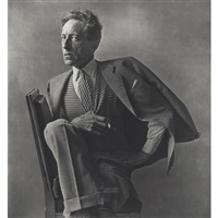 jean cocteau, paris by irving penn
