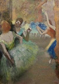 scène de ballet by edgar degas
