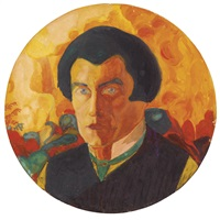 self-portrait by kazimir malevich