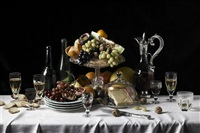 the duke of northumberland's tablecloth by robyn stacey