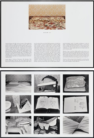 hotel room 43 28 février in 2 parts by sophie calle