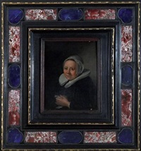 portrait présumé de maria van teylingen by frans hals the elder