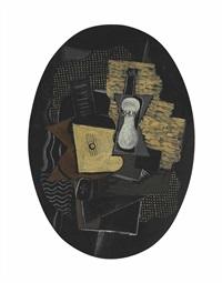 guitare et rhum by georges braque