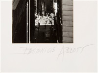 exchange place by berenice abbott
