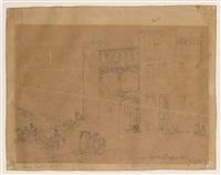antiguo castillo de alba de tormes by genaro perez villaamil