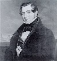 a portrait of matthias wolverley attwood esq., m.p. by charles picque