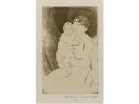 nurse and baby bill (no. 2) by mary cassatt