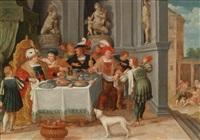 der reiche prasser und der arme lazarus by frans francken the younger