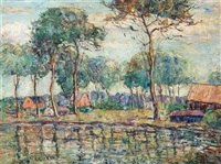 reflections by ernest lawson