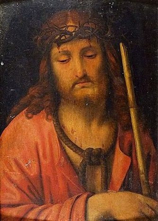 le christ au roseau by andrea solario