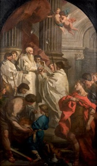 la messe de saint basile by pierre hubert subleyras