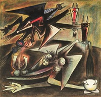 présages by wifredo lam