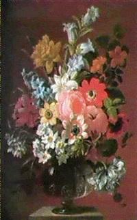 still life of flowers by james (sillet) sillett