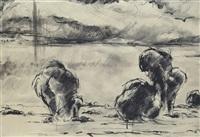 landscape by vilmos aba-novák
