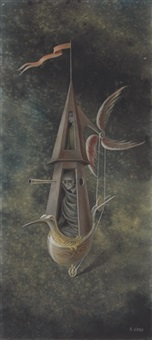 explorador piloto by remedios varo