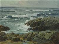 crashing surf by jack wilkinson smith
