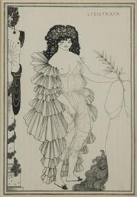 lysistrata (8 works) by aubrey vincent beardsley