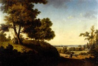 hudson river landscape by thomas addison richards