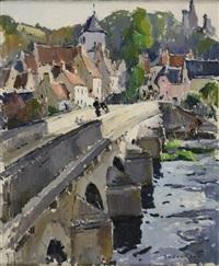 pont à lavardin, loir-et-cher by paul jean anderbouhr