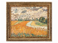 les champs de blé by louis valtat