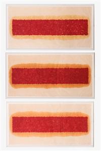 river p.25 (1-3) (triptych) by shen fan