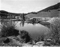 mining project - abandoned gold dredge near breckenridge by linda connor