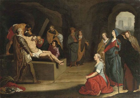 the entombment by lambert jacobsz