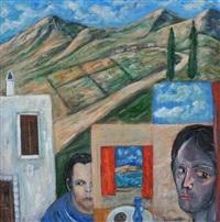 en las sierras iii, picasso childhood series by jack pakenham